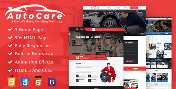 AutoCare: Car Washing, Denting & Painting and Car Service